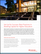 Set Up for Success: Best Practices in Working Capital for Higher Education